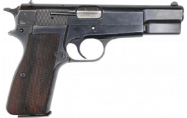 Browning Hi-Power 9mm Pistol, Original Belgian Made Surplus Police Pistols By F.N Herstal , 13 Round Mag - Various Surplus Conditions  - Code HG2340