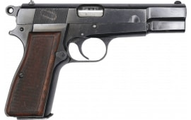 Browning Hi-Power 9mm Pistol, Belgian Mfg Police Surplus,Thumb Print, By F.N Herstal , 1-13 Round Mag - Various Conditions - C & R Eligible - HG5166