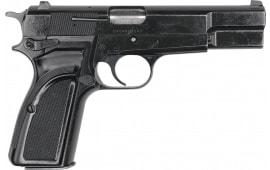 Browning Hi-Power 9mm Pistol, Original Belgian Made Police Surplus By F.N Herstal, Model MKIII- Star Marked,13 Rd Mag - NRA Surplus Good - Code HG5980