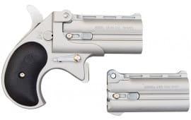Cobra Derringer .22L.R. and .25 A.C.P Combo Over/Under, Nickel Satin CSDSP2BS