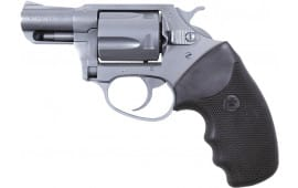 Charter Arms Undercover Stainless Steel Standard 38 Special Revolver, 2in Barrel Black Rubber - 73820