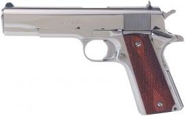 """Colt O1070BSTS Government 45 5"""" Bright Stainless Steel"""