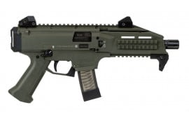 CZ USA 91355 Scorpion EVO 3 S1 9mm Pistol 20 Round OD Green