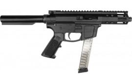 """Foxtrot Mike FM-9 Semi-Automatic AR-15 Pistol 9mm 5"""" Threaded Barrel - 7920-9MM-5"""