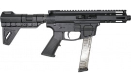 "Foxtrot Mike FM-9 Semi-Automatic AR-15 Pistol 9mm 5"" Threaded Barrel, Glock Mag Compatible - W / Free Breach Pistol Brace."