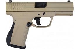 "FMK Recon Pistol in Flat Dark Earth, 9mm, 4"", 14rd - FMKG9C1G2RU"