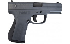 "FMK Firearms FMKG9C1G2P2U Patriot II 9mm 4"" 14rd SS Grey Cerakoted Slide on Grey Polymer Frame."