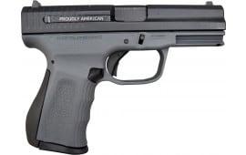 FMK 9C1 G2 9mm Pistol - Patriot Edition - Black Slide on Dark Grey Frame, 2- Mags, 14+1rd Capacity - FMKG9C1G2P