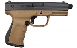 FMK 9C1 G2 9mm Pistol, Threaded Barrel - Burnt Bronze (2)14 Rd mags - FMKG9C1G2TBRT