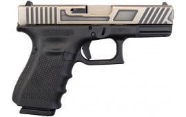 Glock 19 Gen 4 NIB One Battleworn 9mm, (3)15 Rd Mags- GLUG1950203