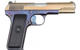 [Auction] Zastava M57 Tokarev Pistol, 7.62x25, Special Ceremonial Finish, Very Good - SN# C127829