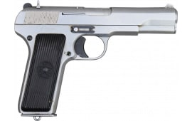 Zastava M57 Tokarev Type Semi-Auto Pistol, 7.62x25mm , Special  Lot With Chrome or Two Tone Finish, Surplus Very Good Condition.