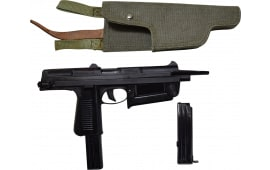 Polish PM-63C RAK Semi-Auto Pistol 9x18 Caliber Pistol W / 1-15 and 1-25 Round Mag, Manufactured by Interarms Radom Poland