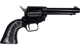 "Heritage Rough Rider, Single Action Revolver, 22LR, 6.5"" Barrel, Black Finish, Black Pearl Grips, 9 Round"