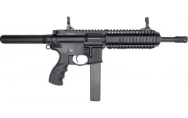 "SAR USA 109T Semi-Automatic AR-9 Pistol 8.6"" Barrel 9mm 30 Round - Includes 3 Magazines - Black Finish"