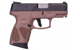 Taurus G2C 9mm Pistol 12+1 Black/Brown - 1G2C93112B