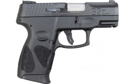 Taurus G2C 9mm, Black- 12 + 1 W / 2 Mags - Model G2C93112