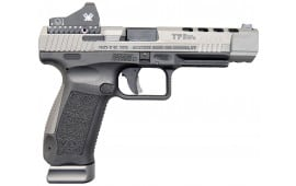 Canik TP9SFx Warren Tactical Sights, Tungsten Grey Vortex Viper Red Dot, 9mm, (2) 20 rnd Mags- 2017 Handgun of the Year - HG3774GVN