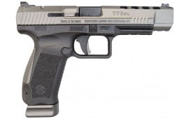 Canik TP9SFx Warren Tactical Sights, Tungsten, 9mm, (2) 20 rnd Mags- 2017 Handgun of the Year - HG3774G-N