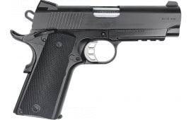"Zigana PCS 9 Semi-Automatic 1911 Pistol 4"" Bull Barrel 9mm 9rd - W/ Accessory Rail - Black Finish"
