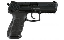 "HK 730903SLEA5 P30S V3 Ambi Safety DA/SA 9mm 3.85"" 15+1 3 Mags NS Black Interchangeable Backstrap Grip Black"