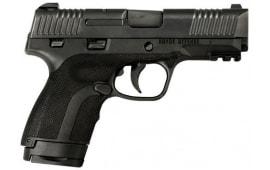 "Honor Defense Honor Guard Long Slide Semi Auto Pistol 9mm 3.8"" Barrel 7/8 Rounds Manual Safety Black - HG9SCLSMS"