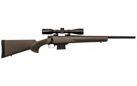 "Legacy Sports HMP60103 Howa Miniaction 222 REM 22"" Green 3-9x40 Scope Combo"