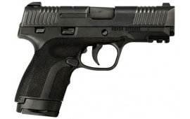 "Honor Defense Honor Guard Long Slide Semi Auto Pistol 9mm 3.8"" Barrel 7/8 Rounds Manual Safety Black - HG9SCLSMS"