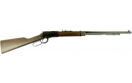 "Henry Frontier .22 Magnum Rifle, 24"" Walnut Stock Blued - H001TMLB"