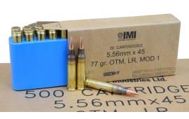 IMI 5.56x45 77gr OTM Razor Core Ammo IMIRZCC - 20rd Box
