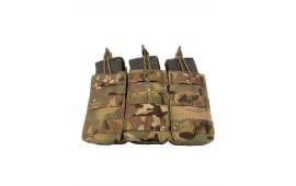 Guard Dog Body Armor Triple Magazine Pouch - Holds (3) AR-15 Magazines - Multicam - TRIPLEMAG-MC