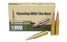 IMI .338 Lapua Magnum 250 GR OTM Ammo IMI338LPM - 20rd Box