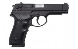 "SDS Imports Kanuni S Semi-Automatic DA/SA Pistol 9mm 15rd 4.3"" Barrel - Black W / 2-15 Round Mags"