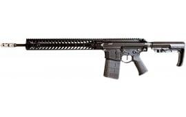 """2A Armament XRC18SC15Black1 308WIN 18"""" 6.75LB WT 15"""" Slant CUT Mlok Rail"""