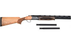 "American Tactical Imports Cavalry Turkey / Fowl 12GA Shotgun, 3"" Chambers, 21"" Barrels W / Barrel Extensions and Choke Tubes."
