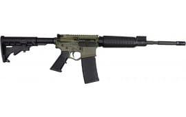 """Limited Edition Battlefield Green ATI GOMX556BFGP3 Omni Hybrid MAXX P3 Semi-Auto .223/5.56 NATO 16"""" 30+1"""