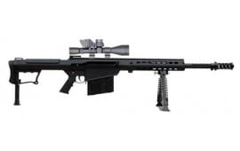 "Barrett 14017 M107A1 50BMG 20"" Fluted Barrel Black Leupold MARK4 Bors"