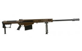 """Barrett 14557 M107A1 50BMG 29"""" Black Fluted Barrel Multirole"""
