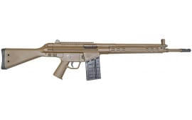 Century Arms CAI C308 Rifle, Cal. .308 Limited Edition Patriot Brown Finish With 1- 20 Round Surplus Mag. - Good / Very Good - Show Display Models.
