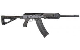 "Kalashnikov USA AK47 12G Shotgun, 18"" Barrel, Collapsible Stock, Black, 10rd - KS-12T"