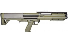 "Kel-Tec KSGGRN KSG Pump 12GA 18.5"" 3"" 12+1 Synthetic Green Stock Green"
