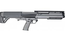 "Kel-Tec KSGTUNGSTEN Pump 12GA 18.5"" 3"" Tungsten Synthetic Stock Finish"