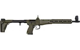 Kel-Tec SUB2K9MPBGRNHC SUB-2000 Collapsible Rifle 9mm S&W M&P Mag 17rd - SUBK MP Black/Green