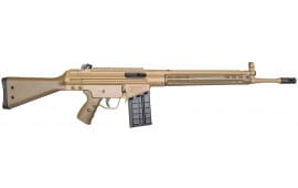 PTR 91 GIR, .308 Caliber Semi-Auto Rifle Cerakoted FDE, Roller Lock Action PTR-112