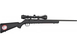 """Savage 91810 93 FNSXP Bolt Action .22 WMR 21"""" 5+1 Synthetic Blk Stk Blued"""