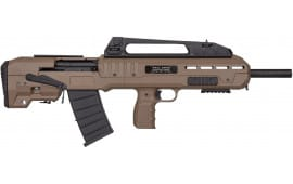 Kral Arms, Turkish Made Bullpup Type 12 Ga. Shotgun, Semi-Auto, Model XB - FDE - W / 2-5 Round Magazines - KRAL0002