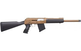 Kral Arms, Turkish Made AK Type 12 Ga. Shotgun, Semi-Auto, Model XP-FDE W / 2-5 Round Magazines - KRAL0001
