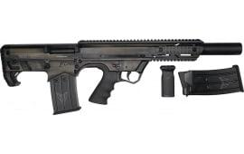 """Black Aces Tactical Pro Series Semi-Automatic FDE Bullpup Shotgun 12GA 5rd 18.5"""" Barrel - BATBPFDE"""
