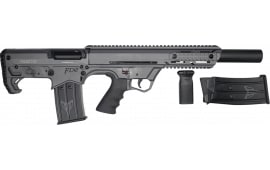 "Black Aces Tactical Pro Series Semi-Automatic Gray Bullpup Shotgun 12GA 5rd 18.5"" Barrel - BATBPGY"
