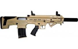 "Panzer Arms BP-12 Semi Auto Bullpup Style 12GA Shotgun, 3"" Chambers Desert Tan Finish - PWBP12BPRDTAN"